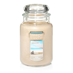 Yankee candle large jar sun & sands