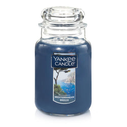 Yankee candle large jar mediterrnean breeze