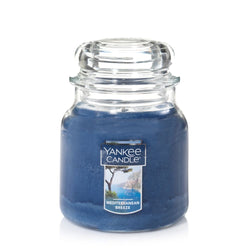 Yankee candle medium jar mediterrnean breeze