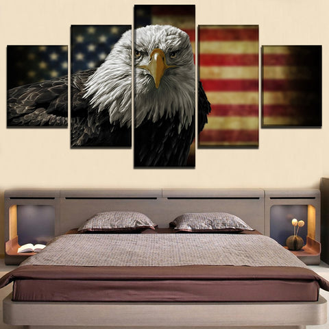 NEW American Eagle Full 5 Piece Canvas
