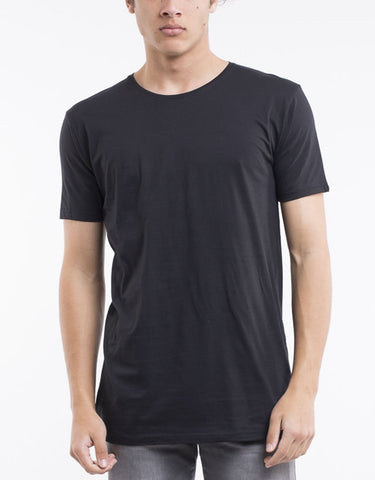 OVER CROTCH TEE - BLACK