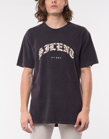 VENDIMIA TEE - WASHED BLACK