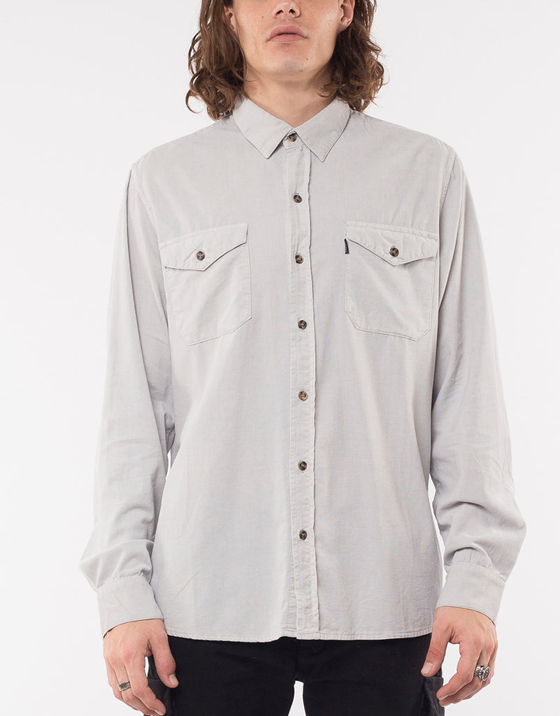 ALPS CORD L/S SHIRT - BONE