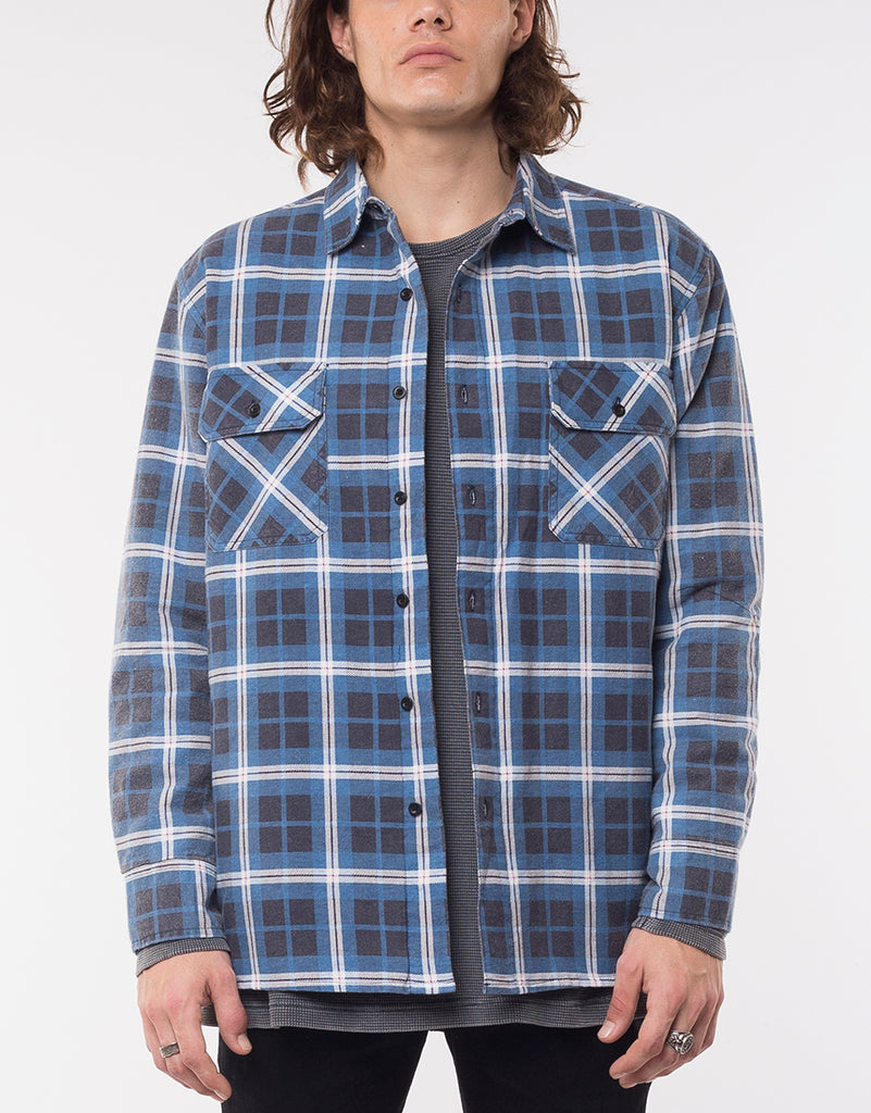 JACK SHIRT JACKET - DENIM CHECK