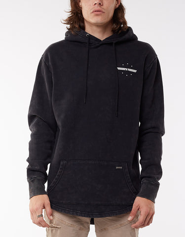 WINGSPAN HOODY - WASHED BLACK