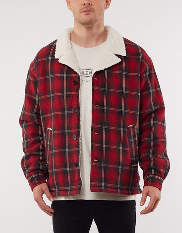 DEFLECTION CHECK COAT - RED