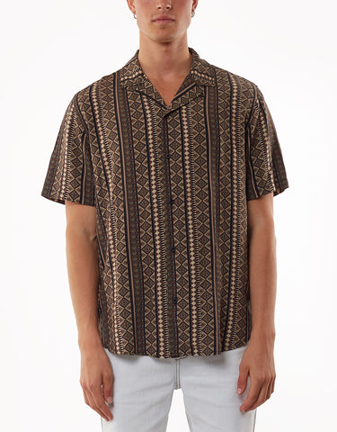 BREEZA SHORT SLEEVE SHIRT - PRINTED