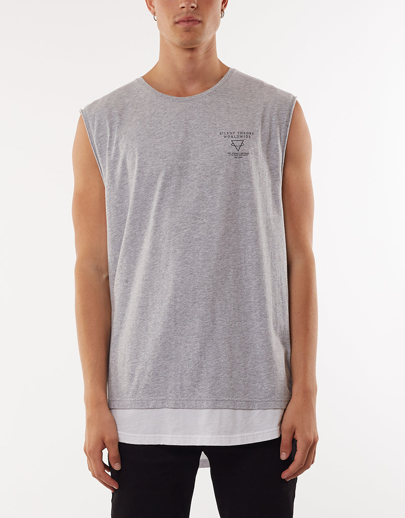 OVAL MUSCLE - GREY MARL