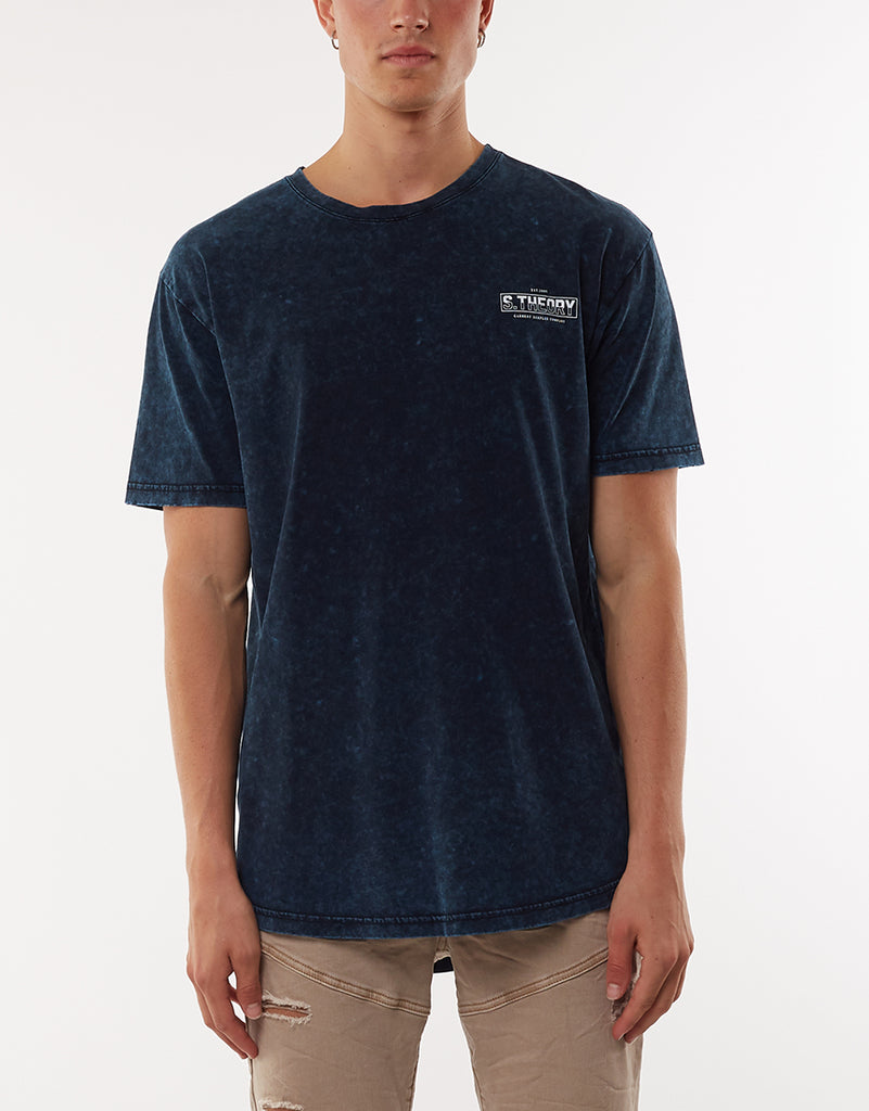 Spray Scoop Tee Navy