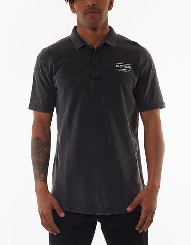 PREY POLO - WASHED BALCK