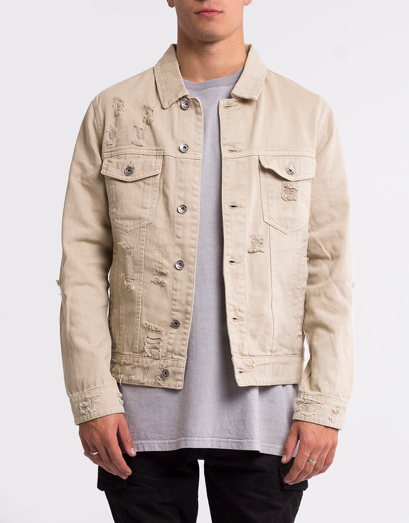 COBAIN JACKET - TAN