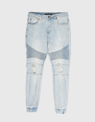 Shadow Biker - Clear Blues Blue Denim