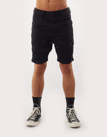 Outlaw Short - Trashed Black Washed Black