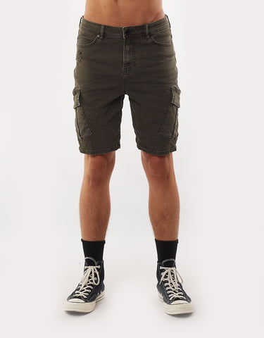 FIELD CARGO SHORT - TRASHED KHAKI