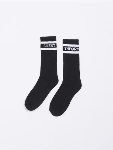 SILENT CREW SOCK 3 PACK - BLACK