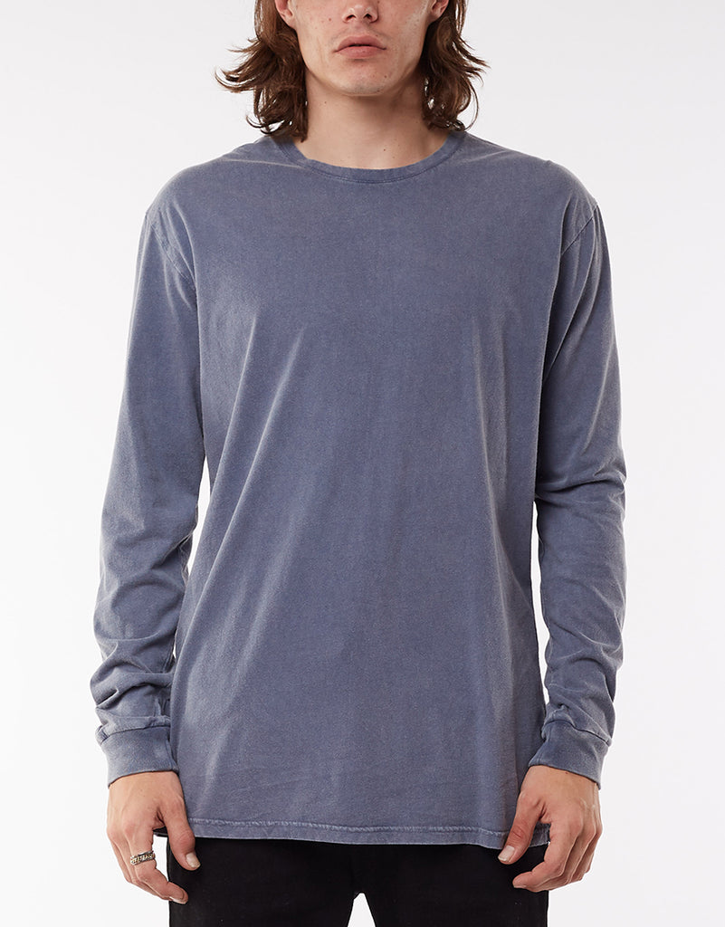 Over Crotch L/s Tee Blue
