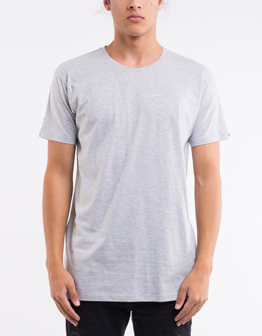 OVER CROTCH TEE - GREY MARLE