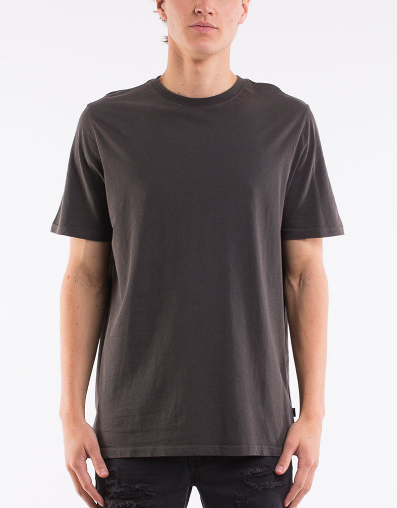 RELAXED TEE - CHARCOAL