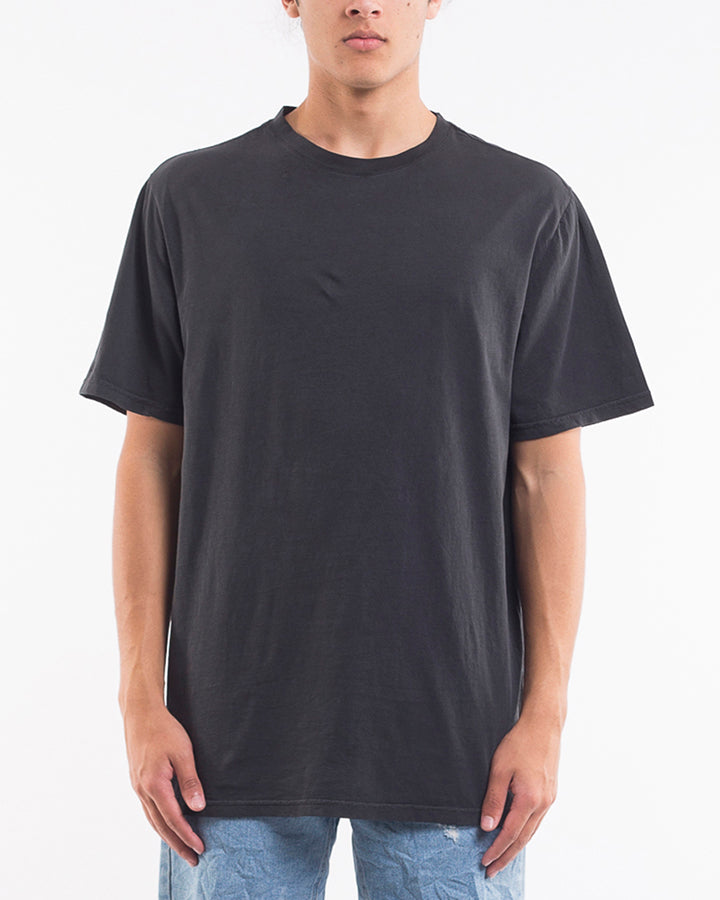 RELAXED TEE - FADED BLACK