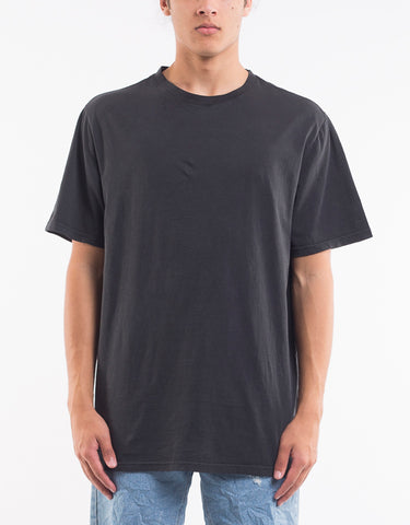 Relaxed Tee Faded Black