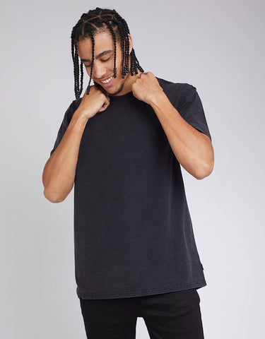 STANDARD TEE - WASHED BLACK