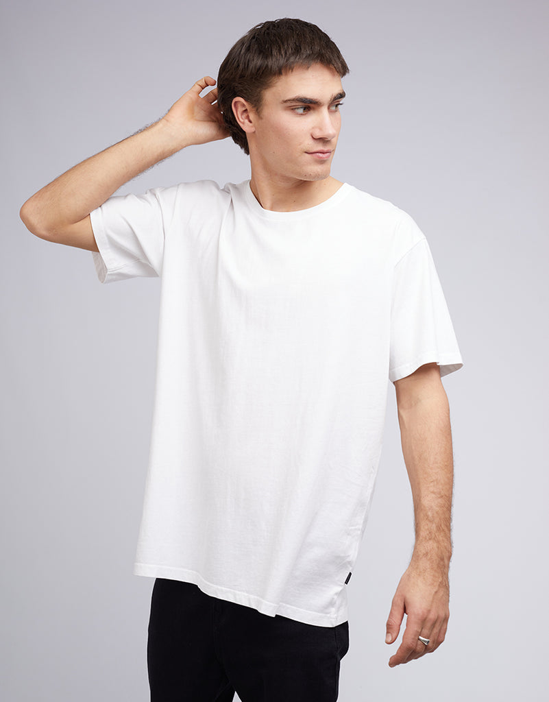 STANDARD FIT TEE - WHITE