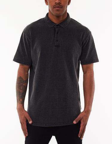 THE POLO - WASHED BLACK