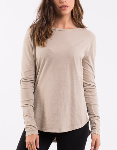 KARA LONG SLEEVE - TAN