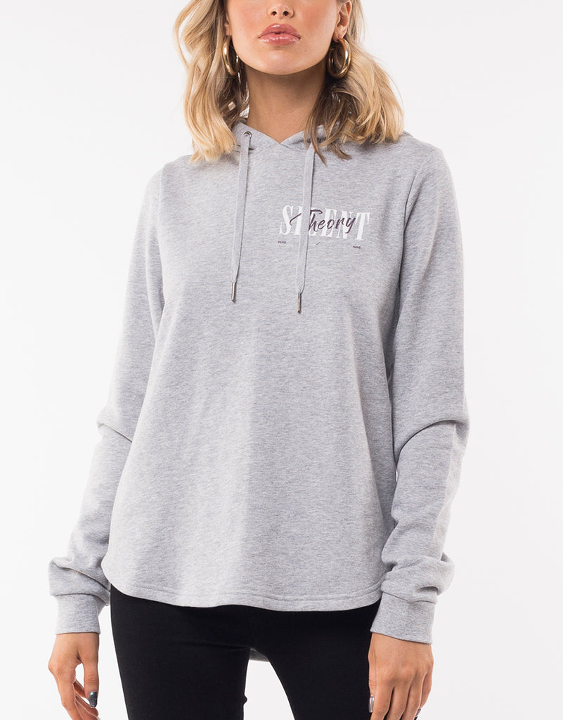 DAZED HOODY - GREY MARLE