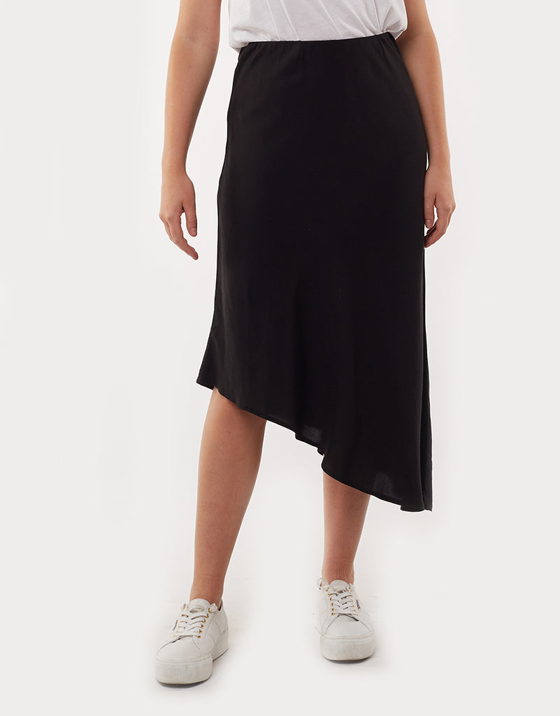 Promise Midi Skirt Black