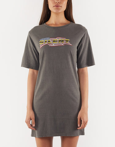 West Coast Tee Dress Coal