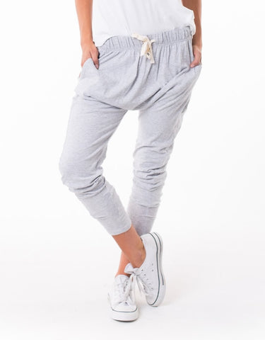 PANT FLUID - GREY MARLE