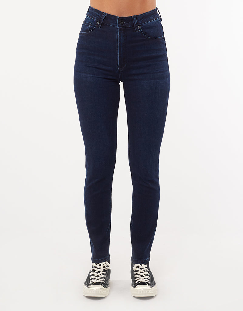 VICE HIGH SKINNY JEAN - DEEP WATER