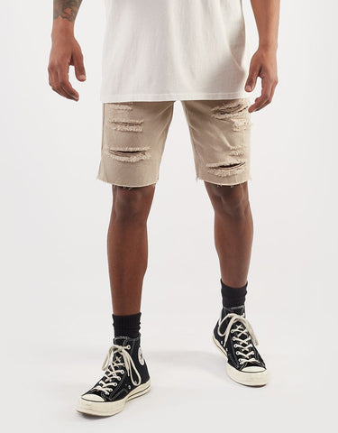 RAMBLE RIPPED SHORT - OAT