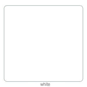 Silhouette 12X12in Adhesive Backed Cardstock -  White  (Per Sheet)