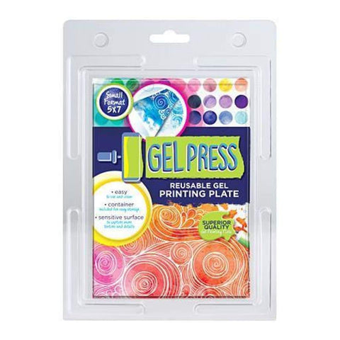 Gel Press - Reusable Gel Printing Plate - 5X7inches