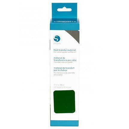 Silhouette - 9 In X36 In. Smooth Heat Transfer - Green