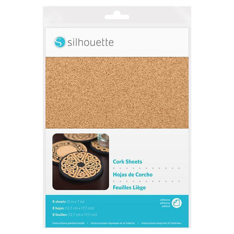 Silhouette - Cork Sheets