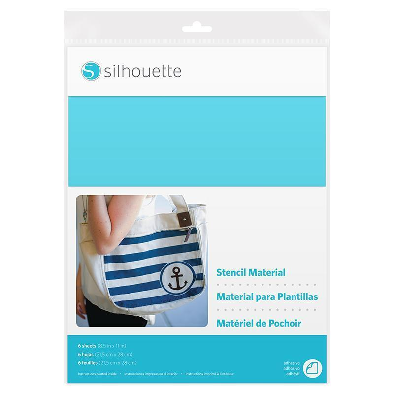 Silhouette - Stencil Sheets (Adhesive)