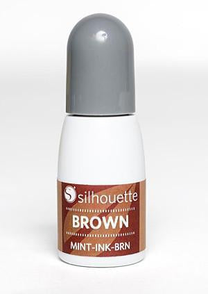 Silhouette - Mint Ink - Brown