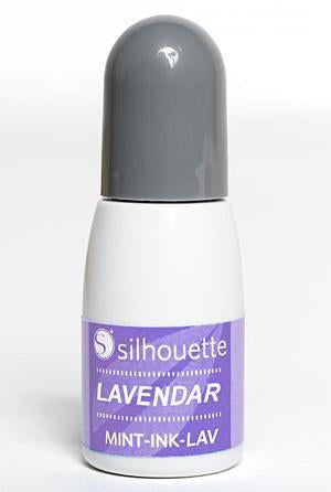 Silhouette - Mint Ink - Lavender
