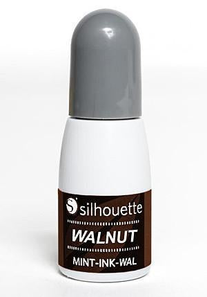 Silhouette - Mint Ink - Walnut