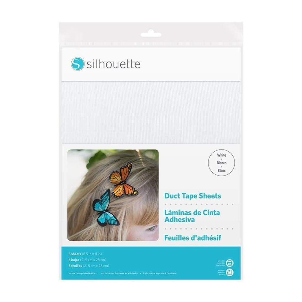 Silhouette - Duct Tape Sheets - White