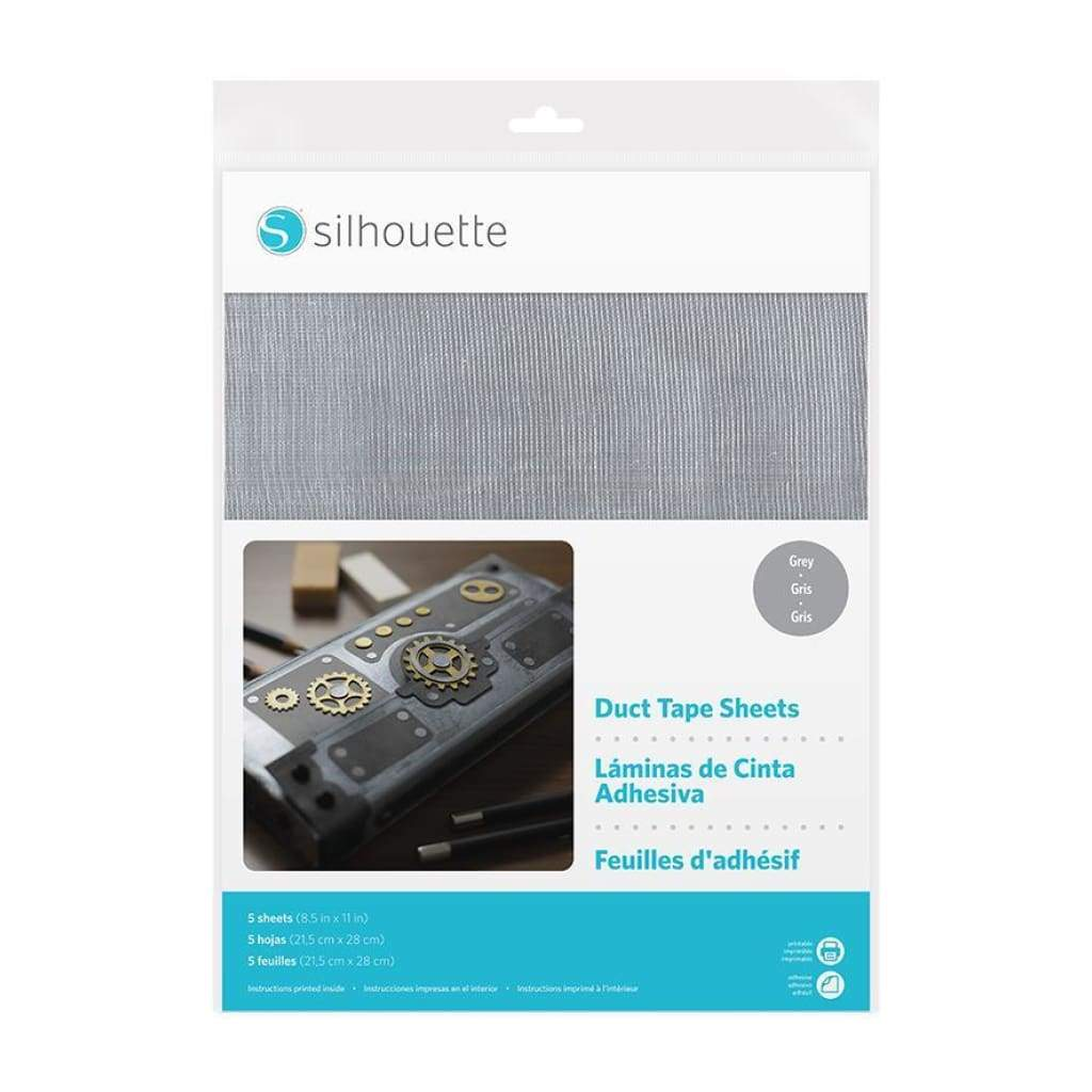 Silhouette Media Duct Sheets Grey