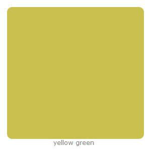 Silhouette 12X12in Adhesive Backed Cardstock -  Yellow Green  (Per Sheet)