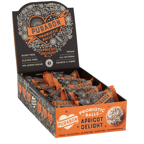 Better For You - Apricot Delight Probiotic Ball 12-pack