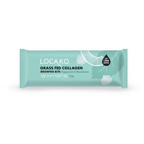 Better For You - Grass Fed Collagen Bars Peppermint Macadamia