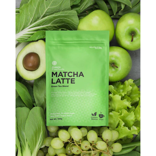 Better For You - Jomeis Fine Foods Matcha Latte 100g X 6
