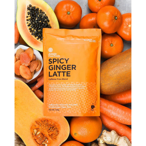 Better For You - Jomeis Fine Foods Spicy Ginger Latte 120g X 6