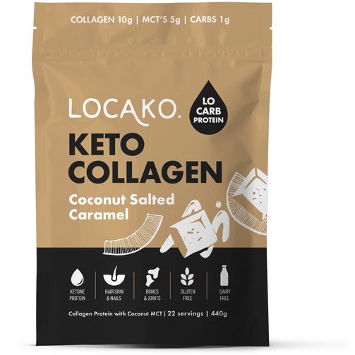 Better For You - Keto Collagen Coconut Salted Caramel 440g